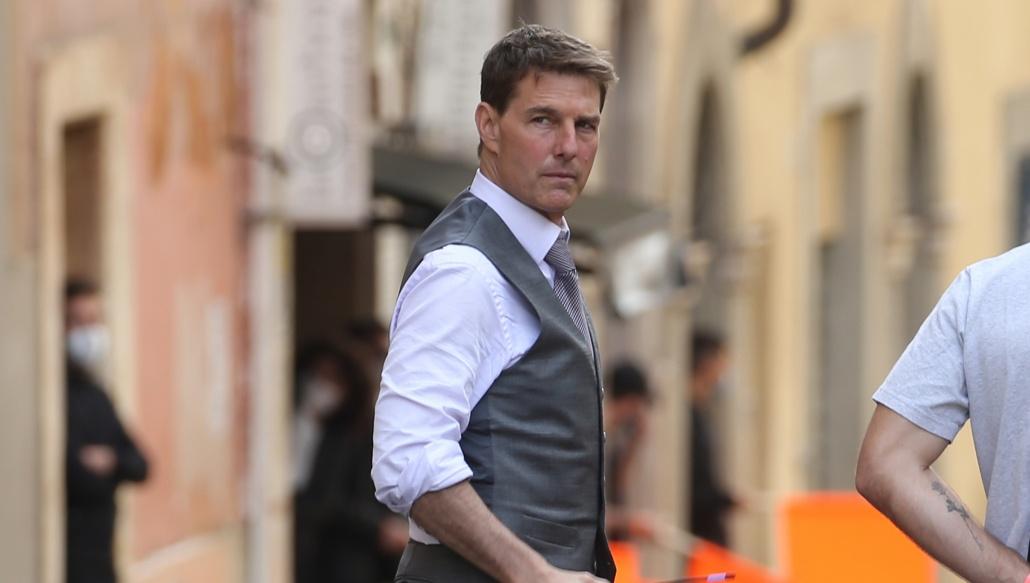 Tom Cruise na snemanju Misije nemogoče 7, foto: NBC News